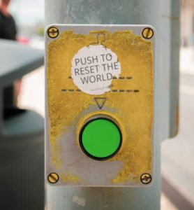 push to reset the world!